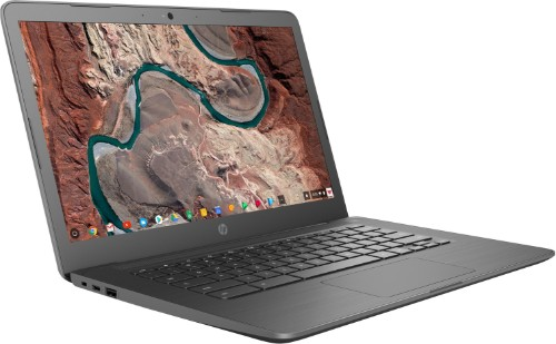 """HP Chromebook 14-db0003na Gray 35.6 cm (14"""") 1366 x 768 pixels 7th Generation AMD A4-Series APUs 4 GB DDR4-SDRAM 32 GB eMMC Wi-Fi 5 (802.11ac) Chrome OS"""