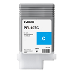 Canon 6706B001 (PFI-107 C) Ink cartridge cyan, 130ml