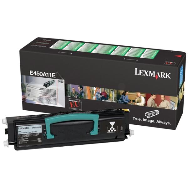 Lexmark E450A11E Toner black, 4K pages @ 5% coverage