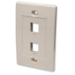 Intellinet 162838 outlet box Ivory