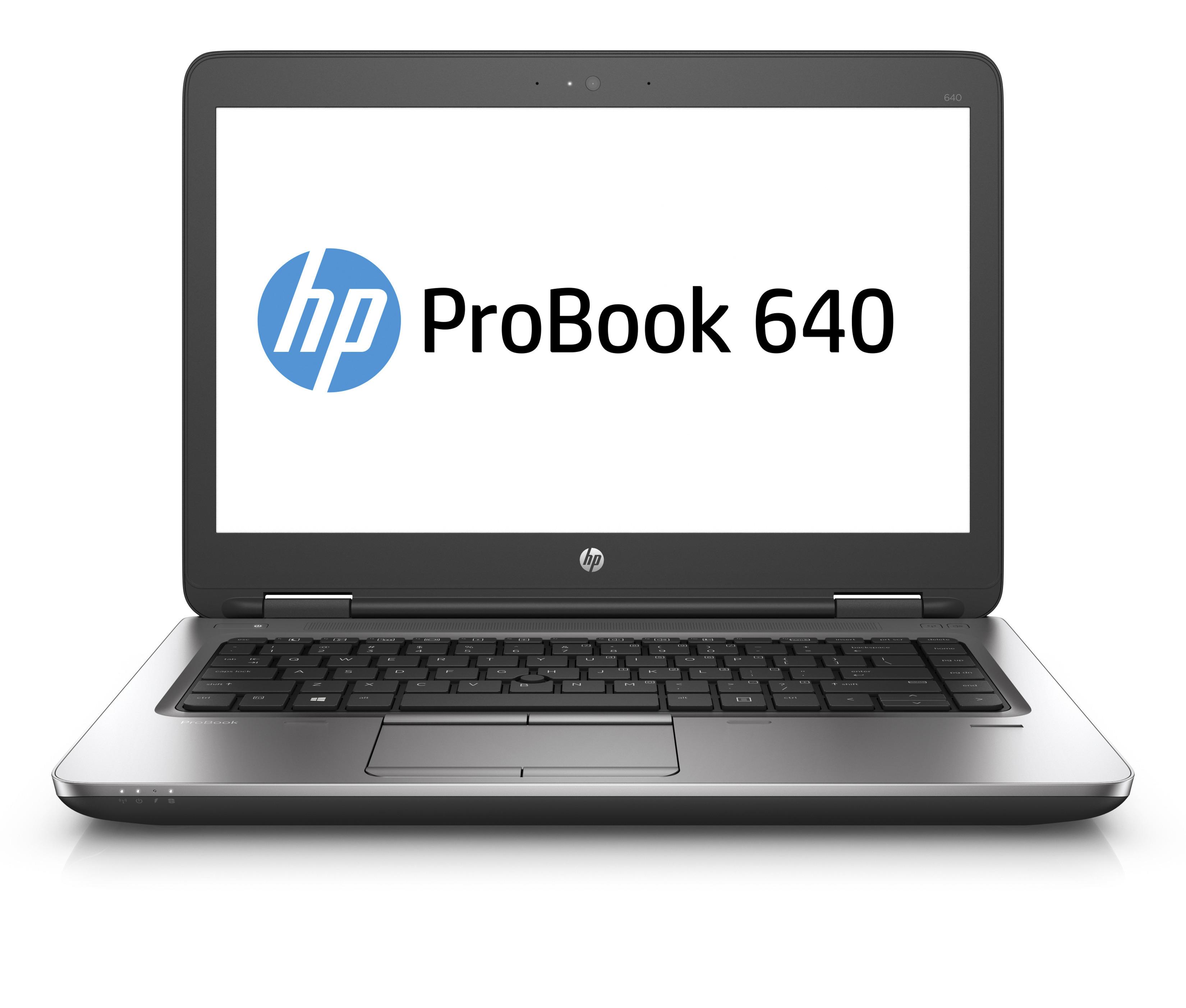 """HP ProBook 640 G2 2.3GHz i5-6200U 14"""" 1920 x 1080pixels Silver"""