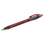 Papermate Flexgrip Elite Red Clip-on retractable ballpoint pen 12 pc(s)