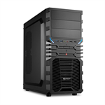 Sharkoon VG4-V Midi-Tower Black computer case