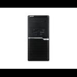Acer Veriton M M6660G 8th gen Intel® Core™ i5 i5-8400 16 GB DDR4-SDRAM 1256 GB HDD+SSD Desktop Black PC Windows 10 Home