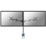 Newstar FPMA-D935D Flat panel Tischhalter 68,6 cm (27 Zoll) Clamp Silver