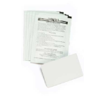 Zebra 104531-001 printer cleaning Printer cleaning sheet