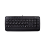 V7 KU300FR toetsenbord USB AZERTY Frans Zwart