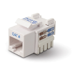 Belkin Category 6 RJ45 Jack - White network splitter