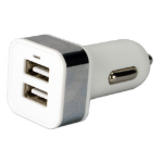 QVS USBCC-2PS Auto White mobile device charger