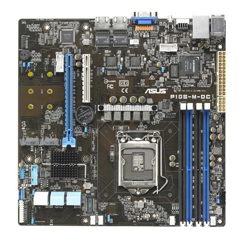 ASUS P10S-M-DC server/workstation motherboard LGA 1151 (Socket H4) Micro ATX Intel® C232