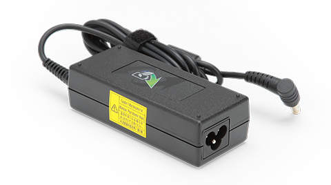 Acer 65W-19V Notebook Adapter - EU power cord adaptador e inversor de corriente Interior Negro