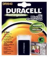 Duracell Digital Camera Battery 3.7v 900mAh 3.3Wh Lithium-Ion (Li-Ion) 900mAh 3.7V rechargeable battery