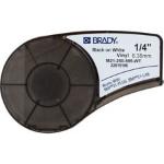 Brady 139744 Black, White Self-adhesive printer label