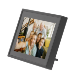 "Denver PFF-711BLACK digital photo frame 17.8 cm (7"") Touchscreen Wi-Fi Black"