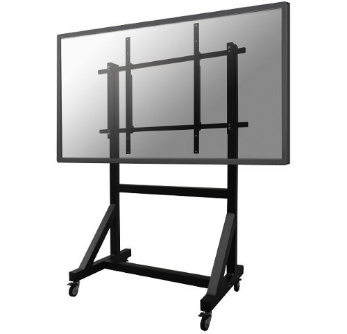 "Newstar Mobile TV Floor Stand for 50-100"" screen, Height Adjustable - Black"