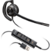 Plantronics EncorePro HW535 Monaural Head-band Black headset