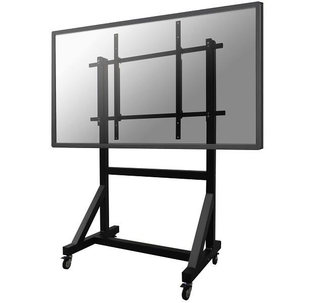 "Newstar PLASMA-M3000E 100"" Portable Black flat panel floorstand"