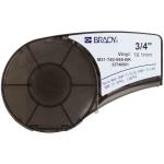Brady M21-750-595-BK printer label Black Self-adhesive printer label