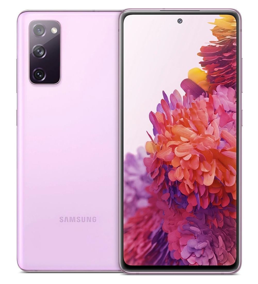 """Samsung Galaxy S20 FE SM-G780G 16.5 cm (6.5"""") Dual SIM 4G USB Type-C 6 GB 128 GB 4500 mAh Lavender"""