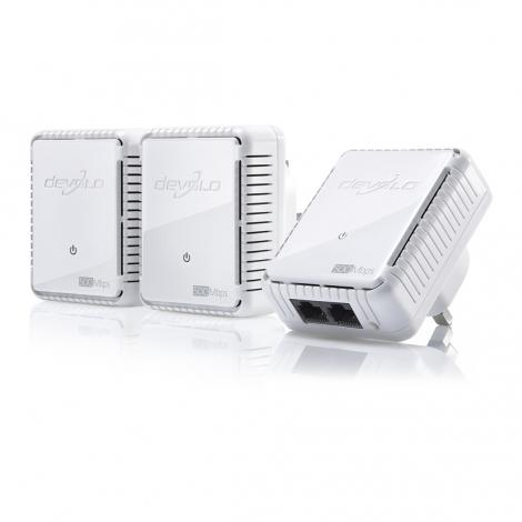 Devolo dLAN 500 duo, Network Kit 500Mbit/s Ethernet LAN White 3pc(s)