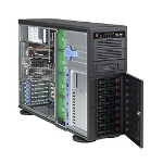 Supermicro SuperChassis 743TQ-865B, Black Midi Tower 865 W