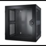 APC NetShelter WX 13U Wall mounted rack Black