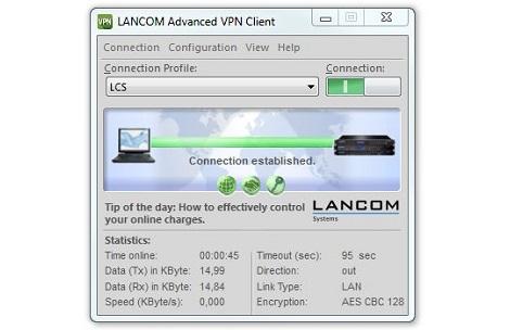 Lancom Systems Advanced VPN Client (Windows)