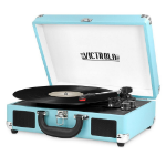 Victrola VSC-550BT-TRQ Belt-drive audio turntable Turquoise