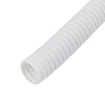 Cablenet 50m x 25mm LSOH Flexible Conduit Coil White