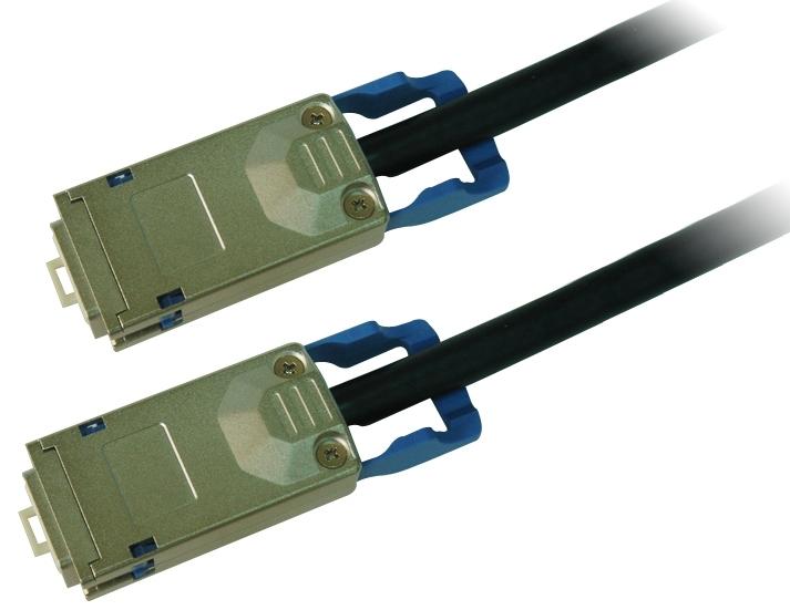 Cisco CAB-STK-E-1M= netwerkkabel Zwart
