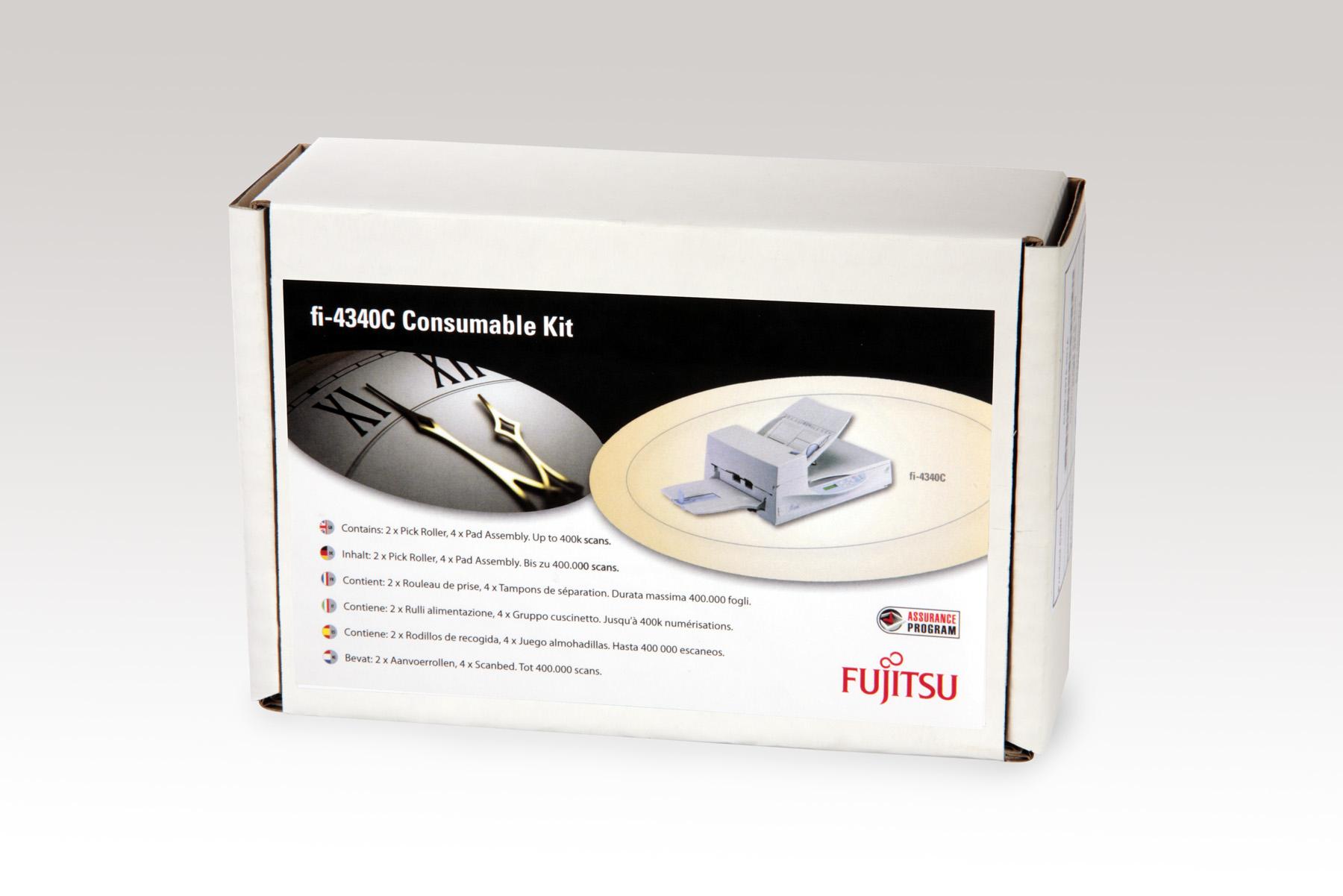 Fujitsu Europe CONSUMABLE KIT FI-4340C: 2 X PICK ROLLER