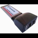 Dynamode 2 Port FireWire / 1 Port USB2.0 Adaptor Express Card (34mm)