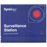 SYNOLOGY Surveillance Device License Pack For Synology NAS - 4 Additional Licenses  (Physical Product)