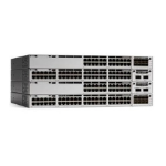 Cisco Catalyst C9300-24P-A Managed L2/L3 Gigabit Ethernet (10/100/1000) Power over Ethernet (PoE) 1U Grey network switch