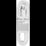eSTUFF 8Pin Lightning - USB A Male 2 m White