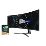 "Samsung C49RG90SSR 124.5 cm (49"") 5120 x 1440 pixels UltraWide Quad HD+ QLED Black"