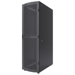 "Intellinet 19"" Server Cabinet, 42U, 2057 (h) x 600 (w) x 1200 (d) mm, IP20-rated housing, Max 1500kg, Flatpack, Black"