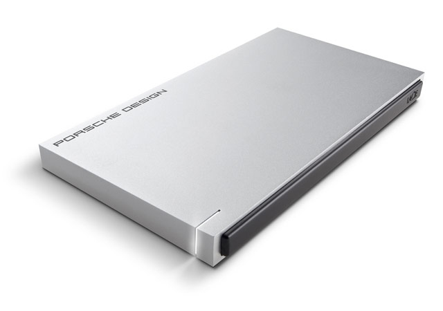 LaCie 500GB Porsche Design Slim P'9223 500GB Black,Silver external hard drive