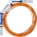 Mellanox Technologies MC220731V-005 cable de fibra optica 5 m QSFP Naranja