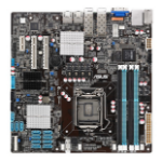 ASUS P9D-MH/SAS/10G-DUAL server/workstation motherboard LGA 1150 (Socket H3) Micro ATX Intel® C224