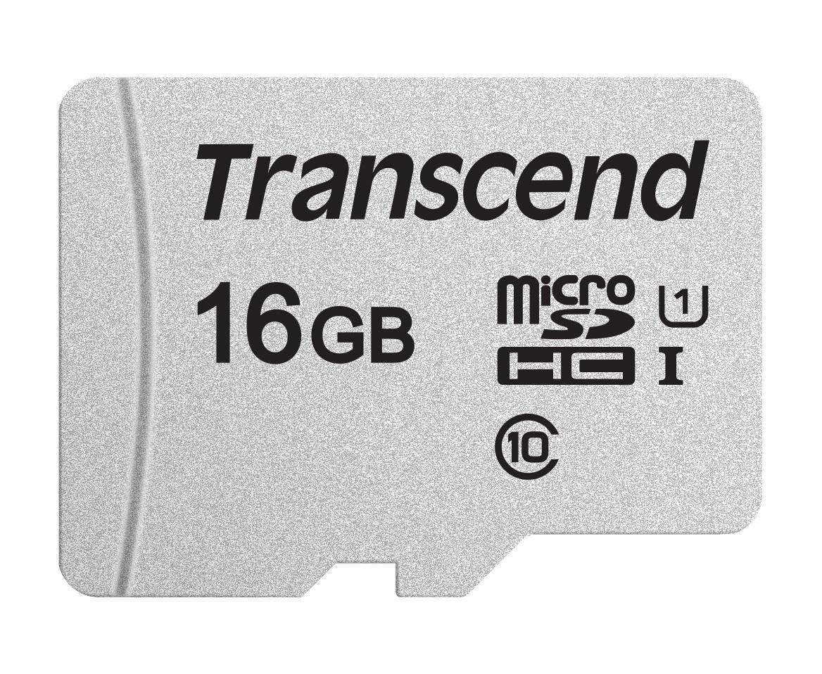Transcend microSD Card SDHC 300S 16GB