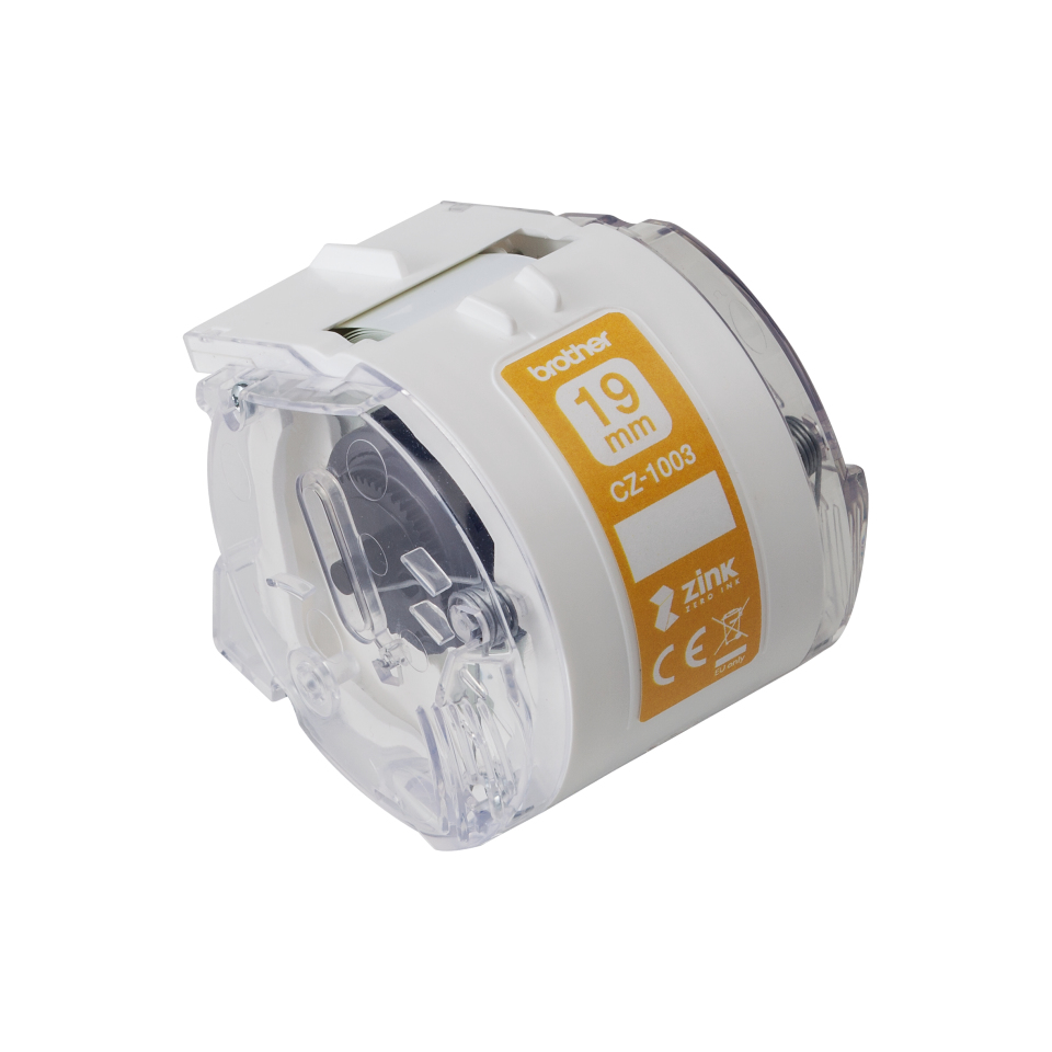 Brother CZ-1003 cinta para impresora de etiquetas Blanco
