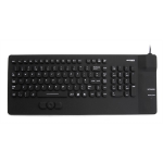 Accuratus KYBNA-SIL-COMCBK USB QWERTY English Black keyboard