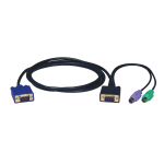 Tripp Lite PS/2 (3-in-1) Cable Kit for KVM Switch B004-008, 3.05 m