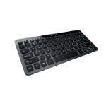 Logitech Bluetooth Illuminated Keyboard K810 Bluetooth AZERTY French Aluminium mobile device keyboard