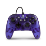 PowerA 1513054 Gamepad Nintendo Switch Analogue USB Purple,Translucent