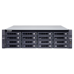 QNAP TS-1683XU-RP-E2124-16G 224TB 16x14TB Seagate Exos 16 Bay NAS Rackmount