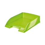 Leitz WOW Letter Tray Stackable Green