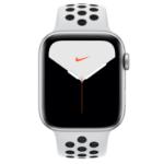 Apple Watch Nike Series 5 smartwatch Silber OLED GPS
