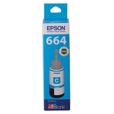 EPSON T664 ECO TANK INK BOTTLE CYAN